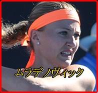 ムラデノヴィックが強い!世界ランク1位の大坂なおみが敗北した理由