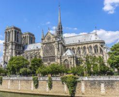 火災のノートルダム大聖堂の歴史とは?火事の原因や今後の復旧は?