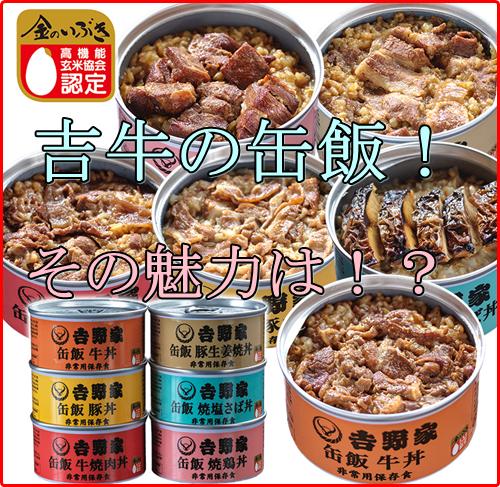 吉野家の缶詰が高い!牛丼缶飯の値段や保存期間は?味とカロリーは?